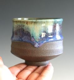 Yunomi Tea Cup handmade ceramic tea cup by ocpottery on Etsy My most favorite tea cup maker:)