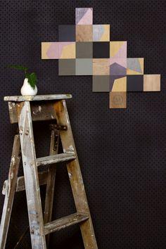 Artwork/ Plywood Artwork: Click here to view 'Paris Denim' $200.00 Plywood, Shapes, Create, Bungalow, Artwork, Paris, Denim, Hardwood Plywood, Work Of Art