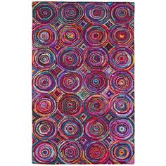 Brilliant Ribbon Circles Rug 268 Liked On Polyvore Featuring Home Rugs