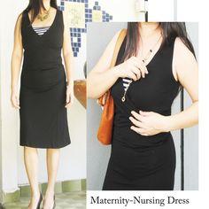 DIANA Maternity Nursing Dress www.modernmummy.com