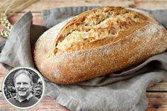 Even voorstellen & basisrecept brood van broodexpert John Thermomix Bread, Knead Bread Recipe, No Knead Bread, Low Sodium Bread, Bread Recipes, Baking Recipes, Cooking Bread, Muffin Bread, Bread Cake