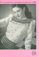 vintge fair isle knitting patterns.  Not a free pattern