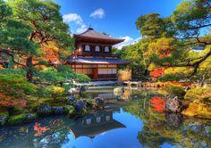 Ginkaku-dzsi,  Japán Kiotó 15. század