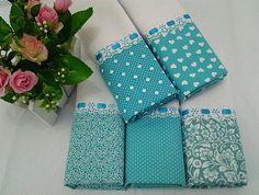 Kit Pano de Copa Azul Tiffany