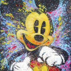 Mickey Mouse, Disney Artwork by Steven Fishwick. This artist gave Mickey incredible Life and vibrincy!!!