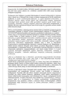 Molnárné Tóth Ibolya Szakmai önéletrajz | PDF Flipbook Word Search, Words, Horse