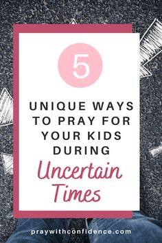 What are some ways we can pray for our kids during uncertain times? With everything going on in the world, what are the best ways to pray for our children? 5 unique prayers for moms to pray over their kids. Mom Prayers, Prayers For Children, Prayers For Healing, Christian Parenting, Christian Homeschool, Family Bible Study, Effective Prayer, Prayer For Protection, Christian Motivation