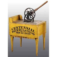"""The Centennial"""" Washing Machine. Antique Washing Machine, Brighton Belle, Vintage Laundry, Cleaning Day, Vintage Sewing Machines, Washers, Primitive Decor, Mustard Seed, Laundry Rooms"""
