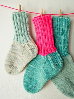 Whit's Knits: Toddler Socks - Knitting Crochet Sewing Crafts Patterns and Ideas! - the purl bee