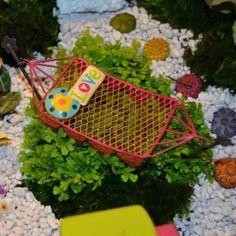 Fairy Garden Miniature Hammock.  $14.99