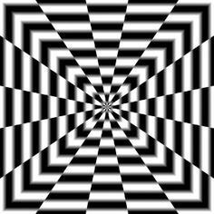 optical illusion art | optical illusion Art Warp Tunnel Poster | Shop entertainment ...
