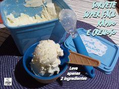 Como fazer um Sorvete de Creme Rápido,Fácil e Muito Cremoso  com apenas 2 ingredientes!!