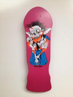 Gargoyle Zorlac skateboard deck