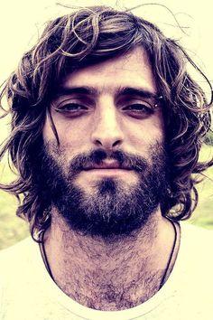 Long curls and dark beard, that's my dream man. (not this man but close)