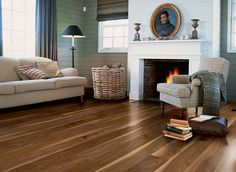Quick-Step Castello wood flooring - 'Mystic walnut satin' (CAS1355) www.quick-step.com