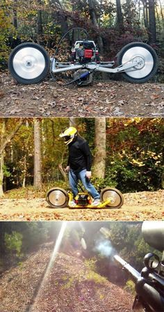 It's not really a motorcycle, but I'd ride it.