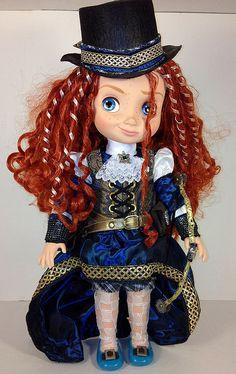 Куклы маленьких героинь Дисней в стиле Стимпанк