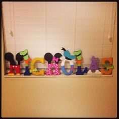 Wooden Mickey Mouse character name