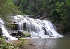 The beauty of Georgia's waterfalls can lure even the not-so-outdoorsy types off the beaten path and into picture-perfect wilds.