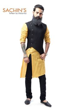 # Look different # Stay different # with this new style of Koti with kurta in any occasion.
