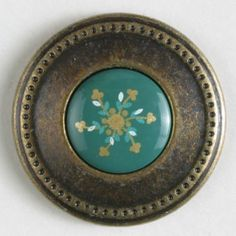 two-piece button with shank Size: 20mm Color: antique brass-300576-20