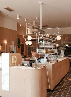 Fabolous Scandinavian Theme for Cozy Coffee Shop ⋆ Main Dekor Network Bar Interior, Shop Interior Design, Cafe Design, Retail Design, Interior Paint, Store Design, Restaurant Design, Restaurant Bar, Cozy Coffee Shop