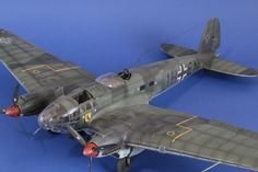 HE 111 1 48 Scale PRO Built Model | eBay