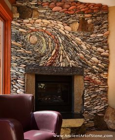 The stones are also surprisingly adaptable to both warm and cool color schemes.