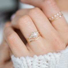 How Are Vintage Diamond Engagement Rings Not The Same As Modern Rings? If you're deciding from a vintage or modern diamond engagement ring, there's a great deal to consider. Wedding Rings Simple, Custom Wedding Rings, Wedding Rings Vintage, Diamond Wedding Rings, Wedding Jewelry, Solitaire Diamond, Bridal Rings, Solitaire Rings, Unique Diamond Rings