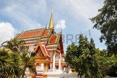 Wathchanghai temple  in Pattani Thailand  It is open to public visits  In the southern provinces of Thailand