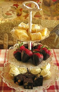 Tea:  Simple #Tea Party Treats | Top & Popular Pinterest Recipes.