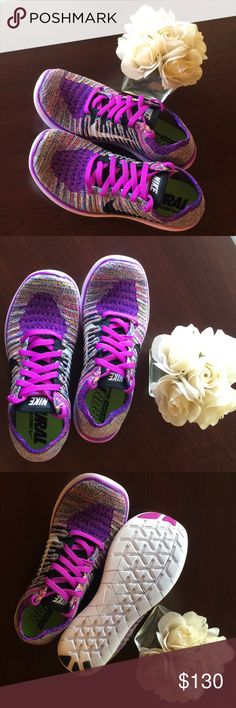 182cd80fa2bce Nike Free RN Flyknit Hyper Violet Womens Nike Running Free and Flexible.  The violet color