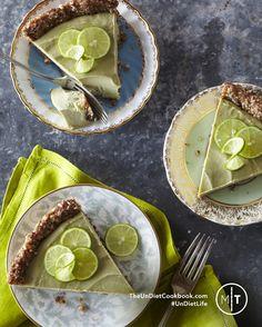 Rawmazing Key Lime Pie! Vegan, Soy-Free