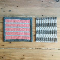 tests for future table wear and quilts | japanesestitches | handcraftedquilting