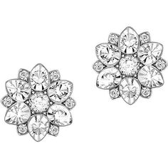 Cool Jewelry Swarovski Celestial Swarovski Crystal and -Tone Stud Earrings Check more at http://24myshop.ga/fashion/jewelry-swarovski-celestial-swarovski-crystal-and-tone-stud-earrings/