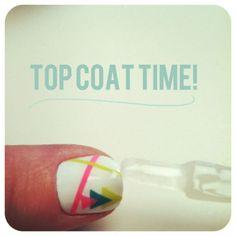 Nail art DIY