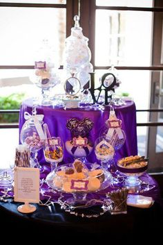 purple & orange sweets table - Yahoo Image Search Results