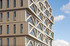 Holzhochhaus, Frantzen et al in Amsterdam