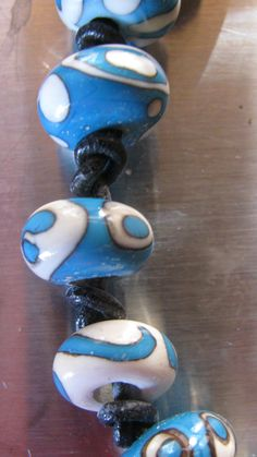 My own glass bead jewelry Anitart