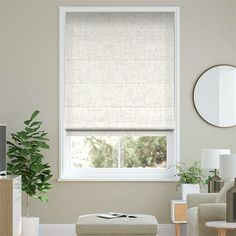Arcus Snow Roman Blind | Blinds Online™ Roman Blinds, Rustic Kitchen, Color Schemes, Lounge, Shades, Curtains, Snow, Home Decor, Shopping