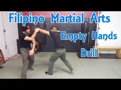 Filipino Martial Arts | Empty Hand Form and Pad Drill - YouTube