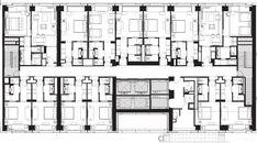 Kết quả hình ảnh cho typical hotel floor plans