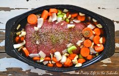 The Perfect Pot Roast // Includes a recipe for hearty beef soup - one can never go wrong with a pot roast ;)