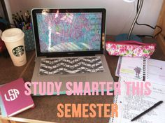 Lauren Ashleigh: Study Tips: The Entire Semester // Tip number Sketchnote! College Hacks, School Hacks, College Life, College Semester, College Schedule, Uni Life, College Years, Study Organization, College Survival