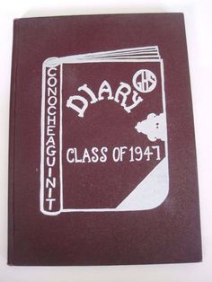 Vintage 1947 Conocheaguinit Greencastle High School Yearbook, Greencastle, PA #Greencastle #Yearbook