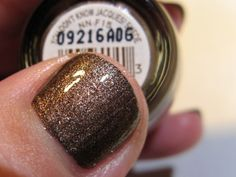OPI You Don't Know Jacques Suede with a topcoat.
