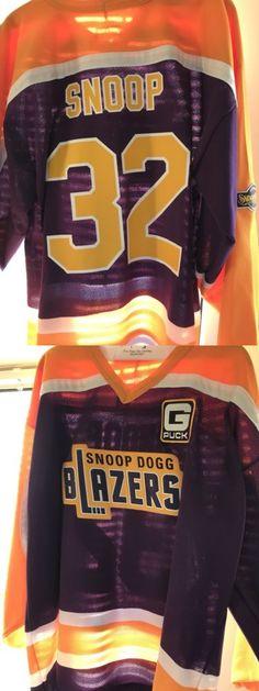 a6a4838f05f Hockey-NHL 24510  Snoop Dogg Blazers Hockey Jersey -  BUY IT NOW ONLY   80  on eBay!