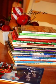 Great list of children's christmas books Christmas Eve Box, Grinch Stole Christmas, Christmas Books, A Christmas Story, First Christmas, Family Christmas, Winter Christmas, All Things Christmas, Christmas Crafts