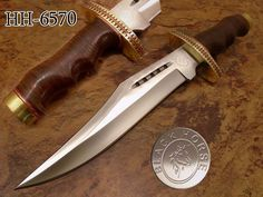 "16.2"" BLACK HORSE CUSTOM MADE D2 TOOL STEEL DUNDEE BOWIE KNIFE HH-6570 #OZAIRBLACKHORSESERIES"