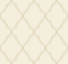 Lattice Sand Print Wallpaper design by Candice Olson